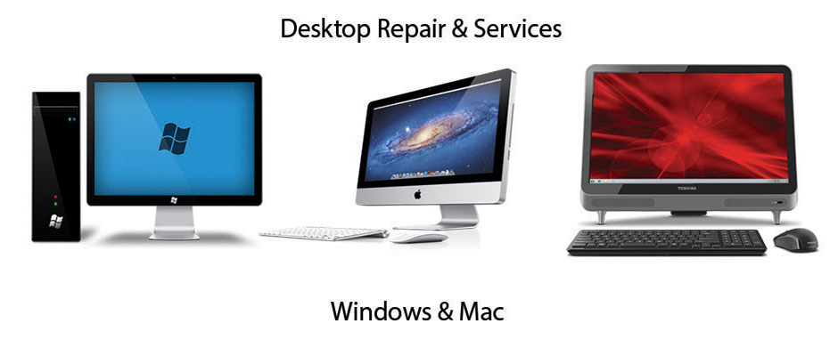 Desktop PC and Apple Mac Repair Services