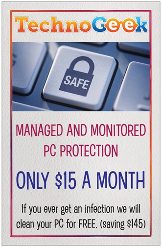 PC Protection Services by Technogeek